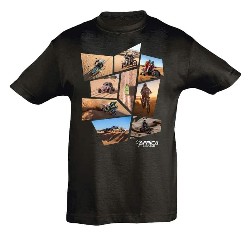 T shirt KID NOIR Patchwork
