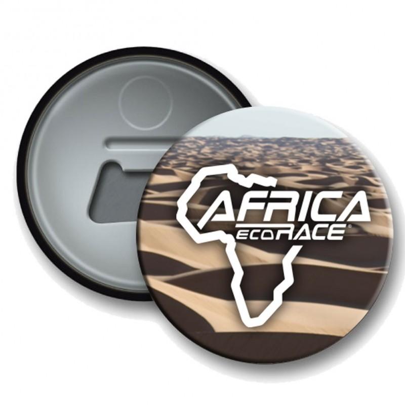 Badge Decapsuleur Africa Race Beige
